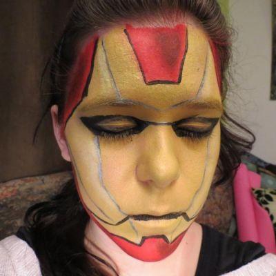 Maquillage Ironman